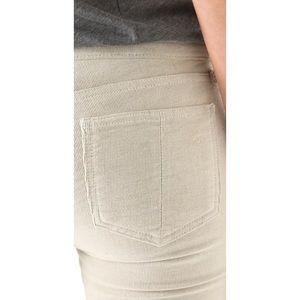 rag & bone Jeans - Rag & Bone Skinny Corduroy Pants in Eggshell White